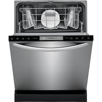 Frigidaire Model #LFID2426TF 24-in EasyCare Stainless Steel Top Control Tall Tub Dishwasher (Actual: 24-in) ENERGY STAR  new dent at the right side (picture 5) Dallas