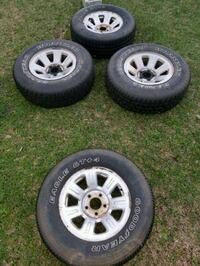 2000 ford ranger rims Tifton, 31794