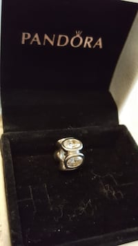 silver-colored ring with box Vaughan