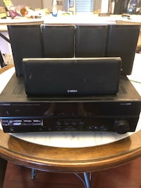 Yamaha Receiver with 6 speakers Arlington, 22213