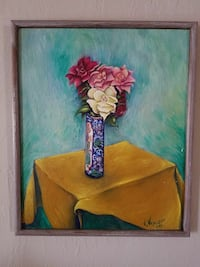 """Oil Painting on canvas,signed,21"""" x 25"""""""