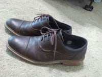 pair of brown leather dress shoes Brownsville, 78520
