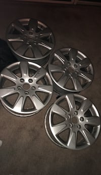 four gray BMW multi-spoke car wheels Vienna, 22180