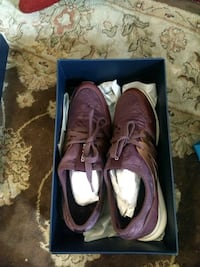 pair of purple Nike basketball shoes with box Walnut Creek, 94596
