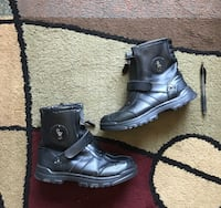 Polo Ralph Lauren Leather Boots - Big Kids Size 5, which would also fit a ladies size 7. Good condition. Raleigh, 27604