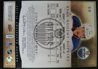 2013 Artifacts Jersey 2 Color # 110 of 125 Ryan Nugent-Hopkins Caledon
