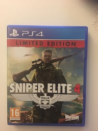 Ps4 Sniper Elite 4 Limited Edition  Çankaya, 06810