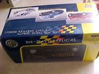Diecast P.T. Cruiser Black New In The Box. LONDON