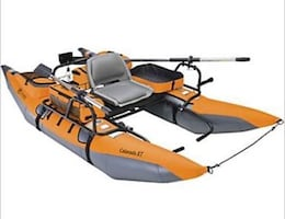 Classic Accessories Colorado XT Inflatable Pontoon Boat w/ motor