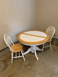 Dining Table & Two Chairs