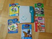 Leap Pad by Leap Frog & 5 books