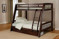 Solid wood bunk bed Vaughan, L6A 3V2