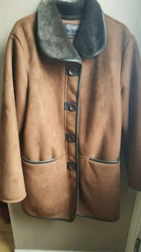 Brown seued jacket Barrie, L4N 4T9
