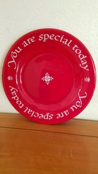 """Vintage """"The original red plate co."""" Henderson, 89014"""