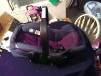 baby's purple and black car seat carrier 1359 mi