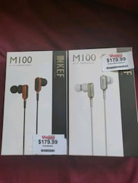 Kef m100 headphones St. Albert, T8N 3L9