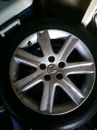 Lexus ES350 factory rims (4) along with tires (4) Lake City, 29560