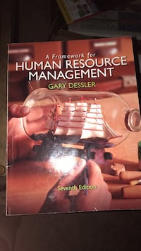 Intro to human resource management college textbook Jefferson, 53549