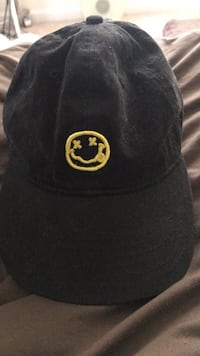black and yellow fitted cap Stafford, 22554