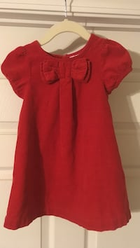 Toddler girl Red Corduroy Dress - worn once, perfect condition Waycross, 31503