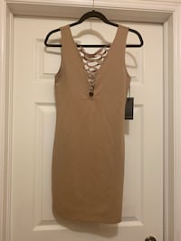 Nude Bodycon Dress Toronto, M3H