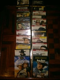 22 movies played one time 12 unopened Lancaster, 75146