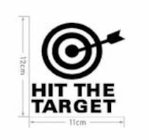 Brand New - Hit The Target Decal