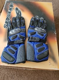 Frank Thomas Men's small motorcycle track gloves