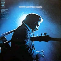 Johnny Cash ‎– Johnny Cash At San Quentin lp plak