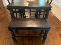 Ashley kitchen dining table seating for 6 includes bench  Columbia