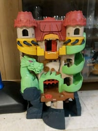 Toy Dragon Play House .. Sound and light