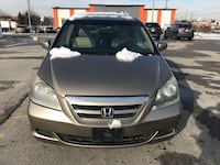 2005 Honda Odyssey.8seaters.Leather seats.No mechanical issue.alloy rims.DVD Toronto