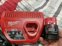 red and black Milwaukee battery charger Toronto