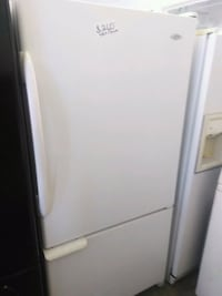 Kenmore french door white fridge  San Bernardino, 92411