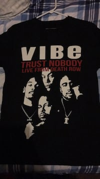 Men's death row the vibe T-shirt was 45 Harrisburg, 62946