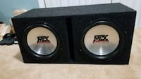 MTX 12 inch subwoofers with box Accokeek, 20607