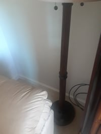 black and white floor lamp BELTSVILLE