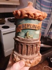 brown and white ceramic beer stein Teays Valley, 25560