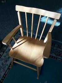 brown wooden rocking chair Vancouver, V5L 3L7