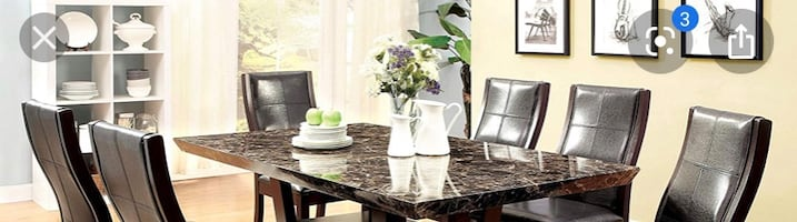 Dining table ,