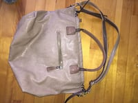 gray leather 2-way tote bag Beaconsfield, H9W 2M3