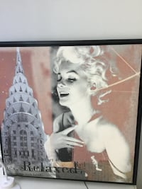 Marilyn Monroe,canvas.
