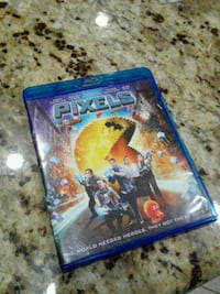 Pixels Blu Ray and DVD Bakersfield, 93312