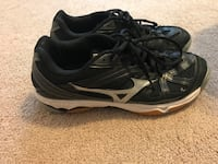 pair of black-and-gray Nike running shoes Roswell, 88201