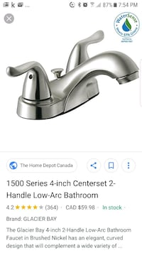 Faucet new in box 549 km