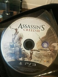 Assassin's creed 3 ps3  Dearborn, 48126