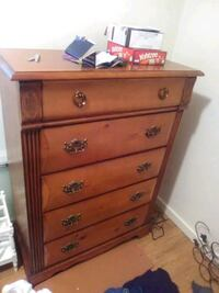 "5 drawer dresser. 52"" tall, 38"" wide, 18"" deep. Albany, 97321"