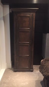 Brown wooden cabinet West Vancouver, V7T 1T4