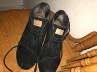 Black wedged Toms , size 7.5 Zillah, 98953