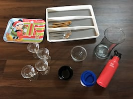 Silverware tray, Klean Kanteen and More!